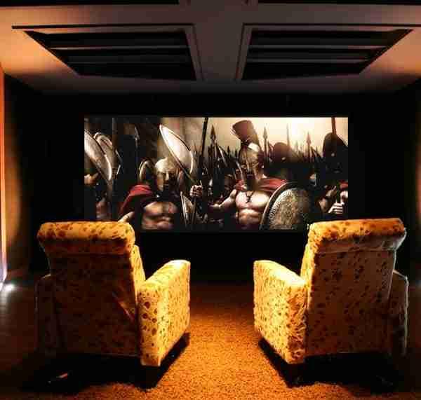 home cinema room treatment