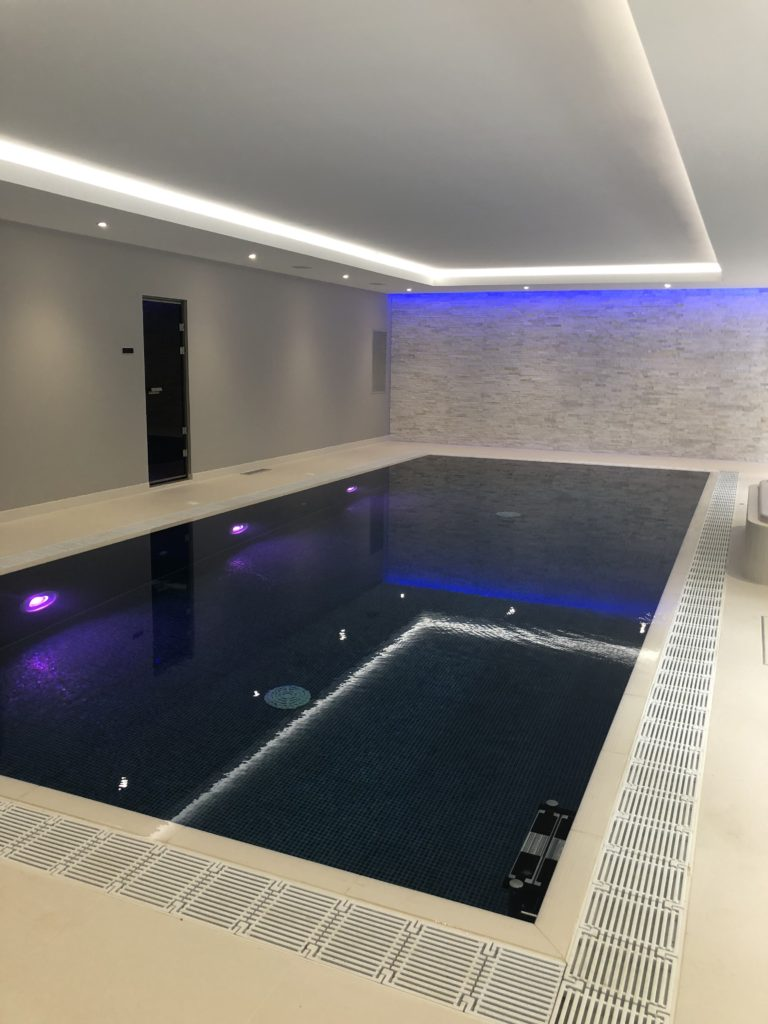 sonance extreme series speakers in the perfect home swimming pool