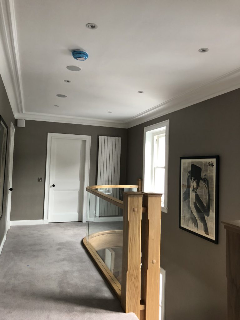 4 inch sonance speakers first floor of the mansion