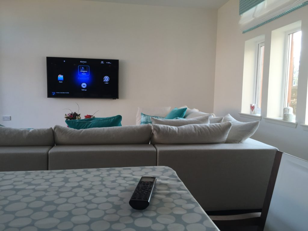 big screen control4 Audio Visual and Home Cinema