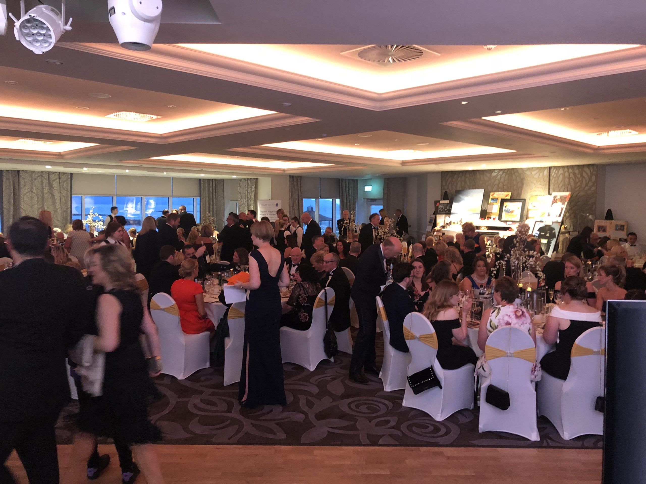 hospice ball the guests