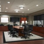 boardroom wood finish