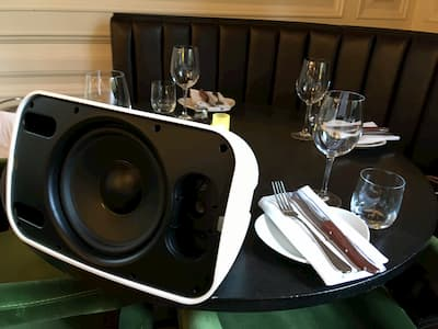 sonance speakers at hutchesons